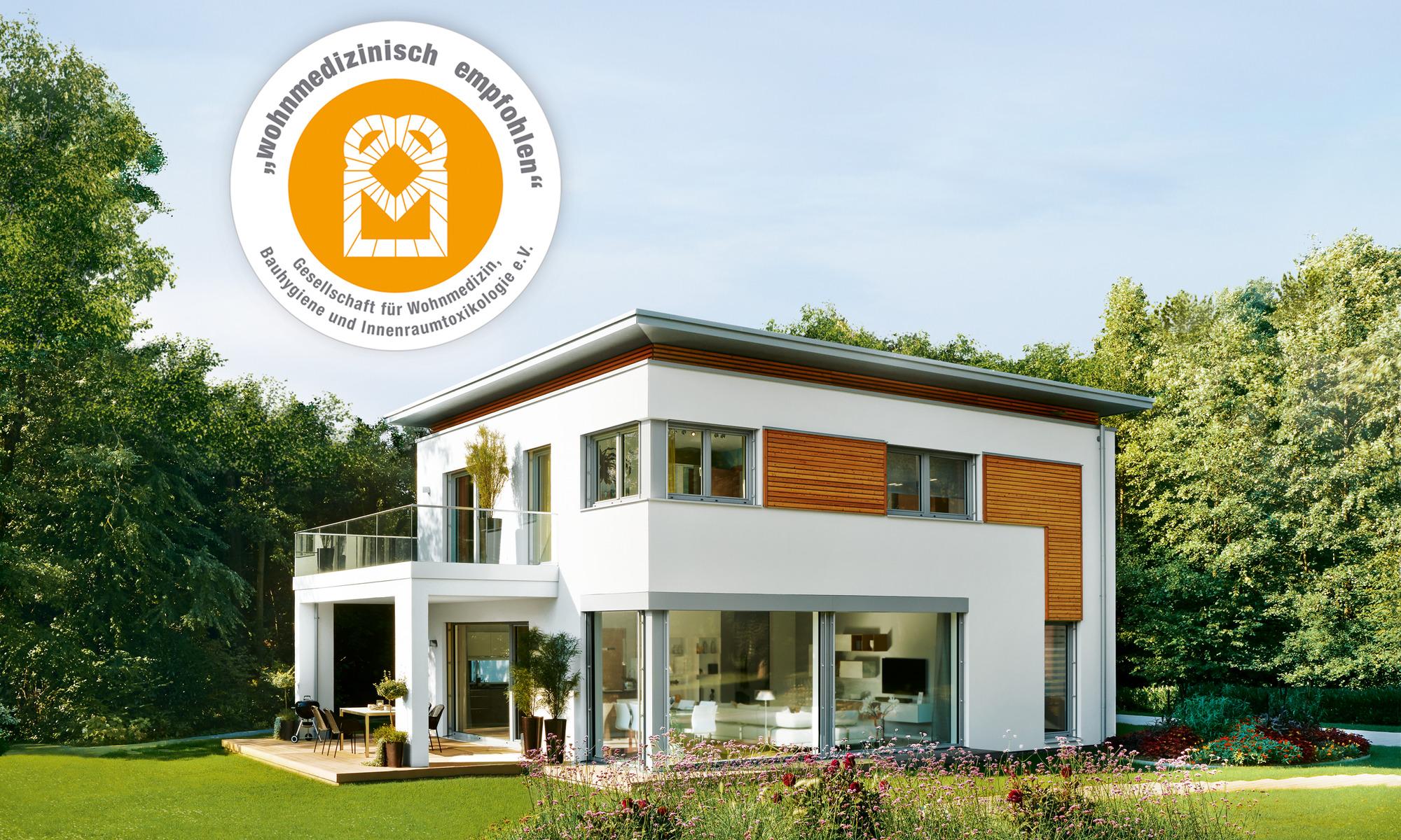 Einfamilienhaus; Stadthaus; Flachdach; Balkon; Terrassse,