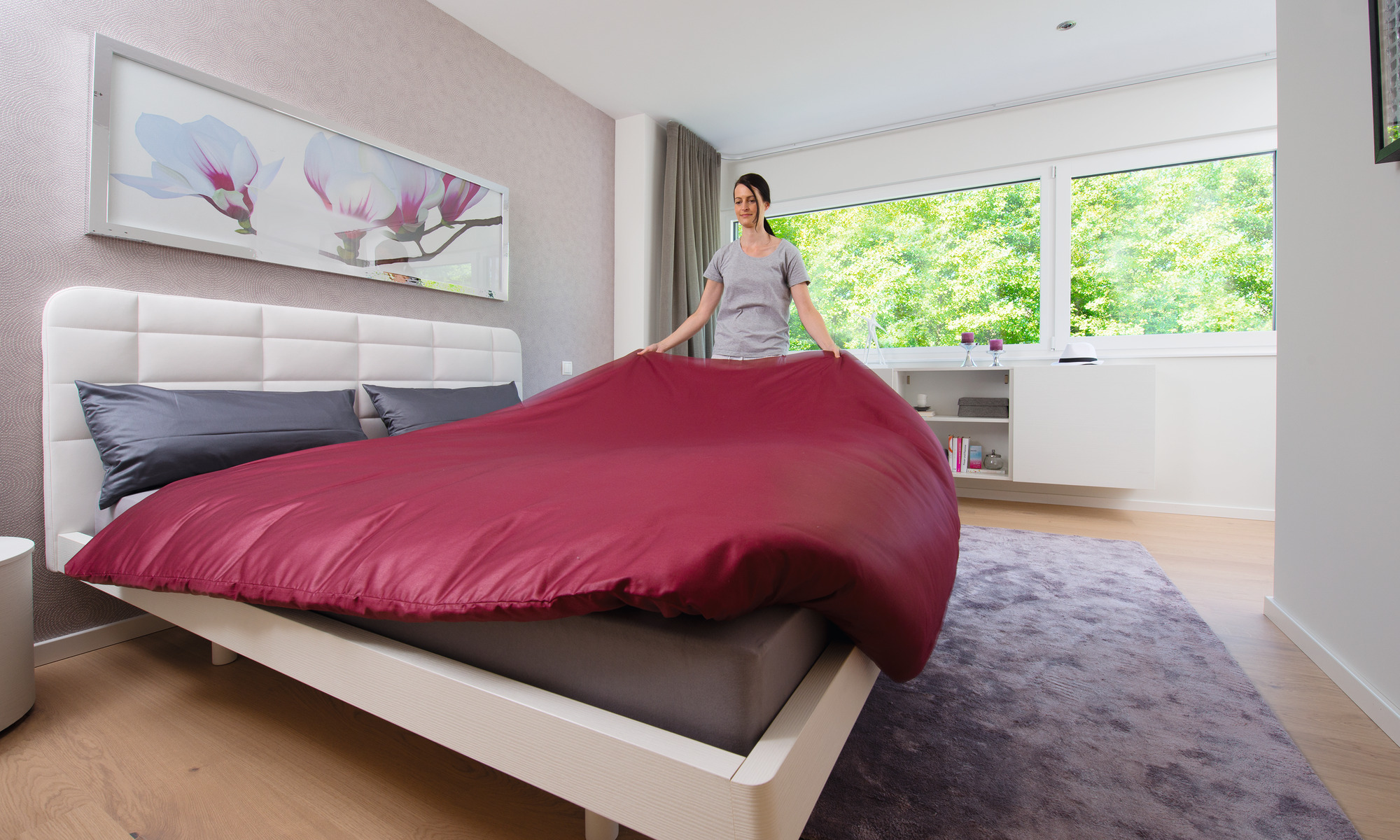 Contemporary, eco-friendly prefabricated house`