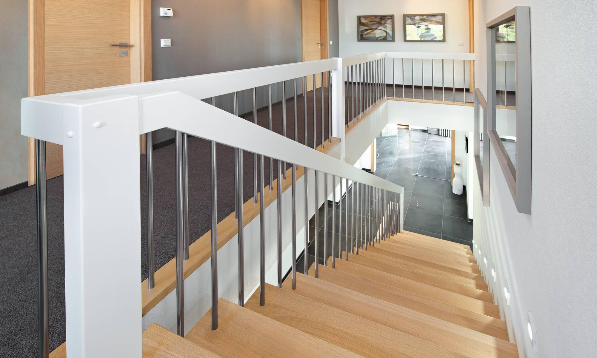 Modern Bauhaus style modular home