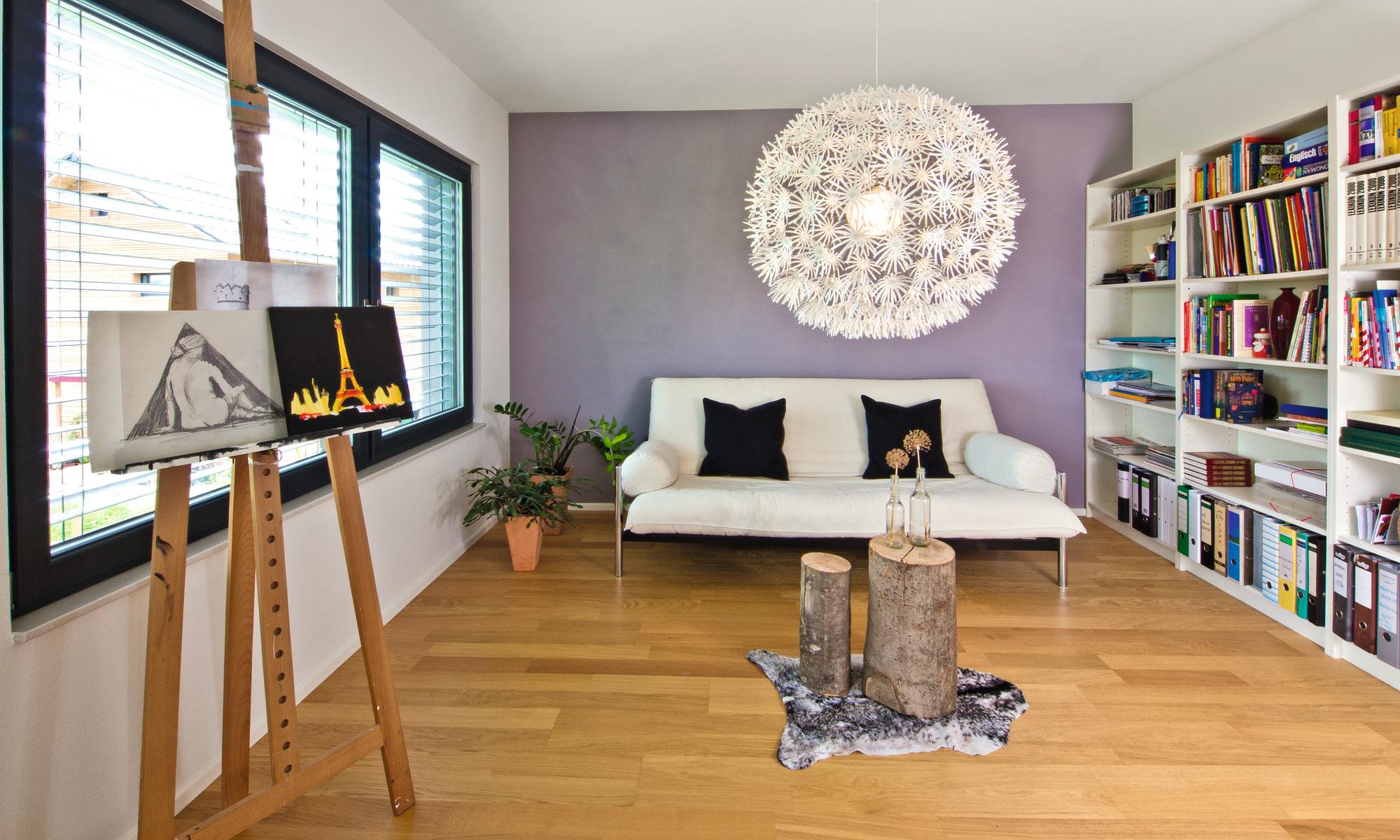 Modern eco-friendly self-build home
