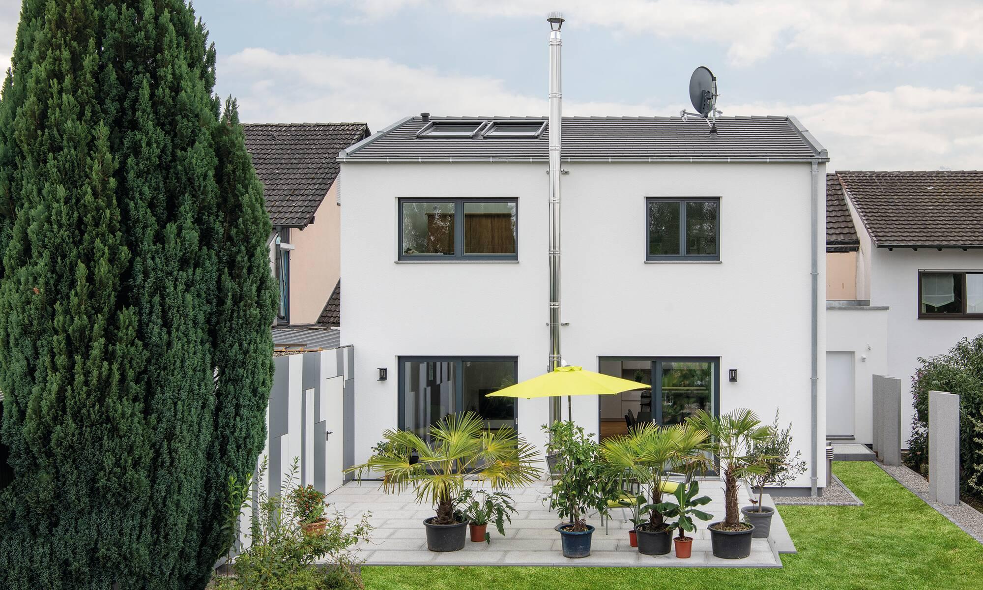 frei geplantes WeberHaus Kundenhaus