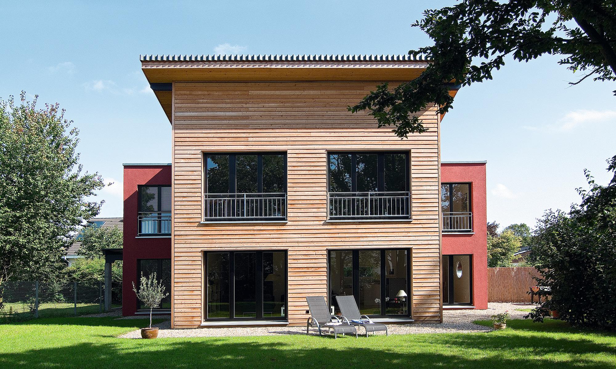 Sustainable ultra-modern modular home