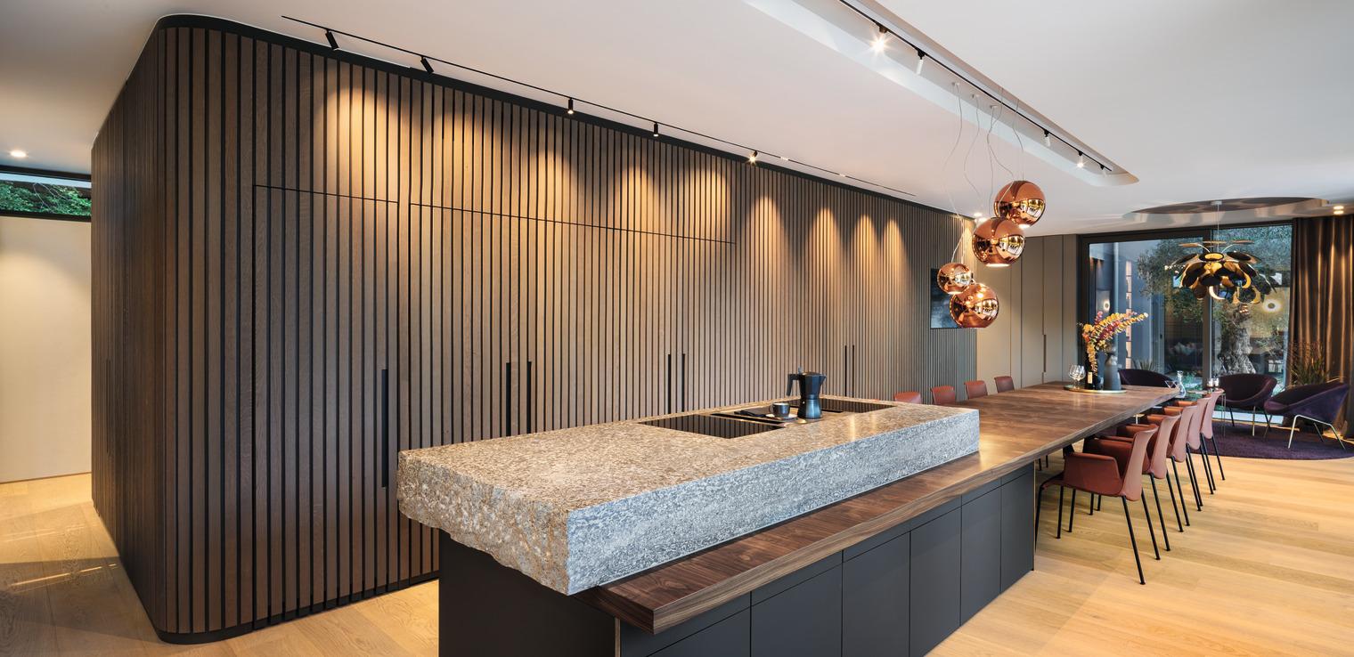 hochmoderne Küche
