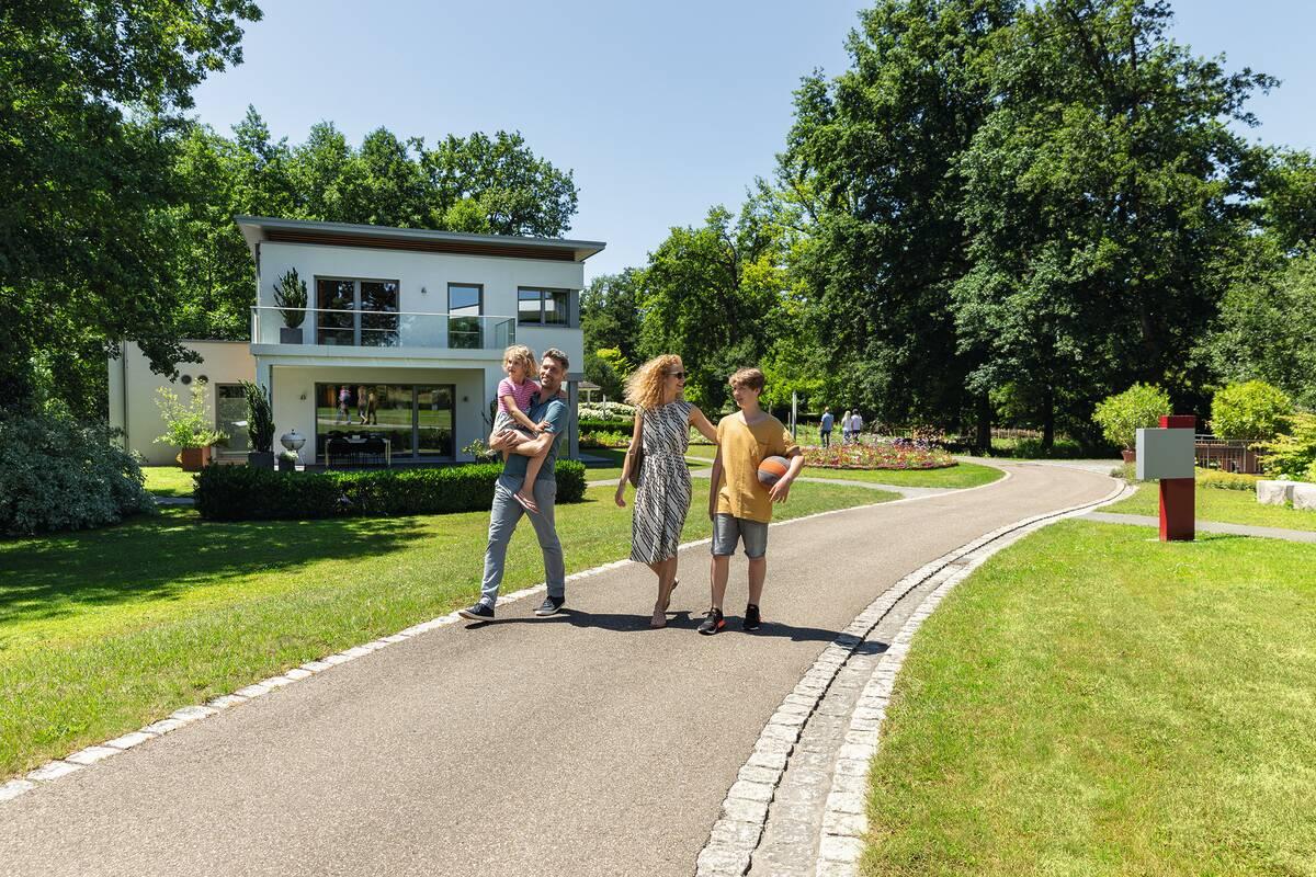Familie im Erlenpark