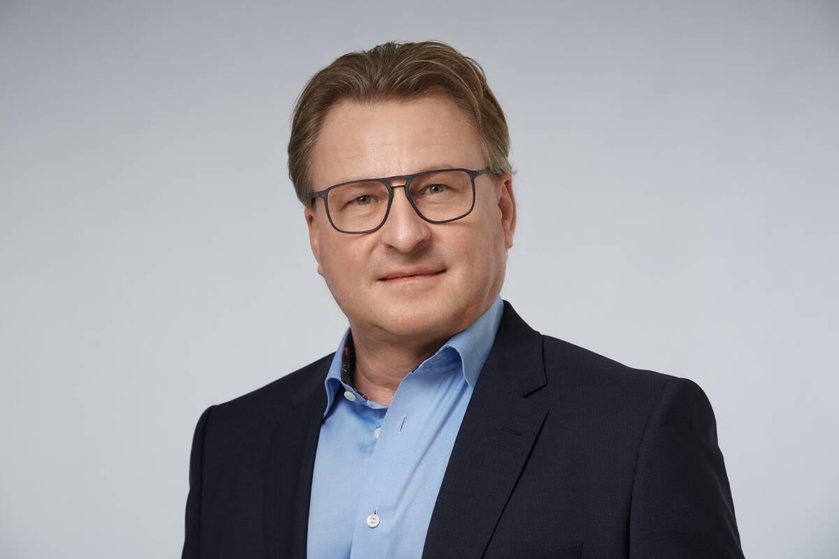 WeberHaus Geschäftsführer Wolfgang Weber