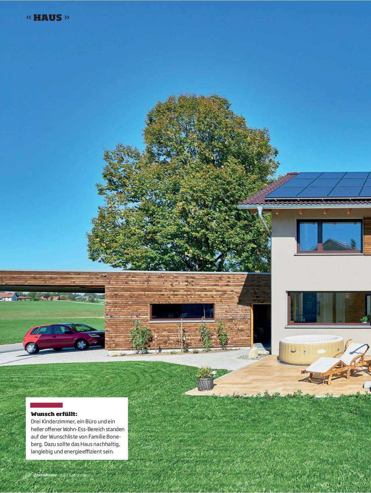 greenhome Ausgabe Juli / September 2019