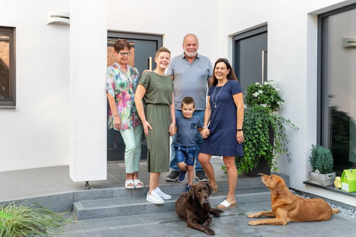 3 Generationen in einem Haus