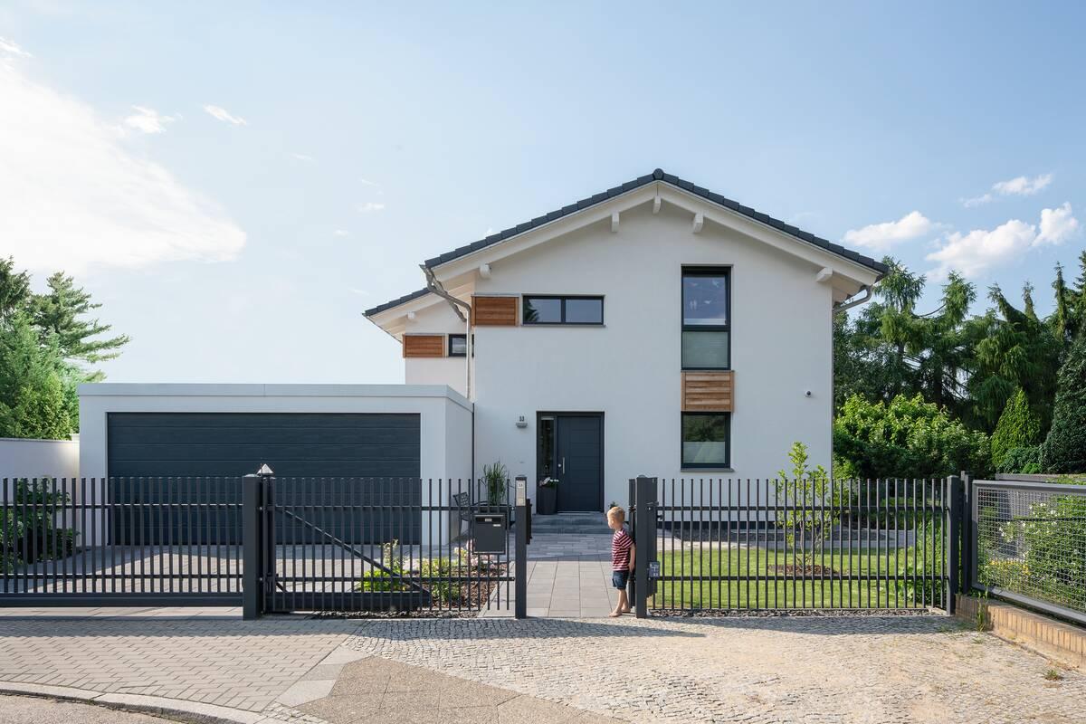 frei geplantes Architektenhaus