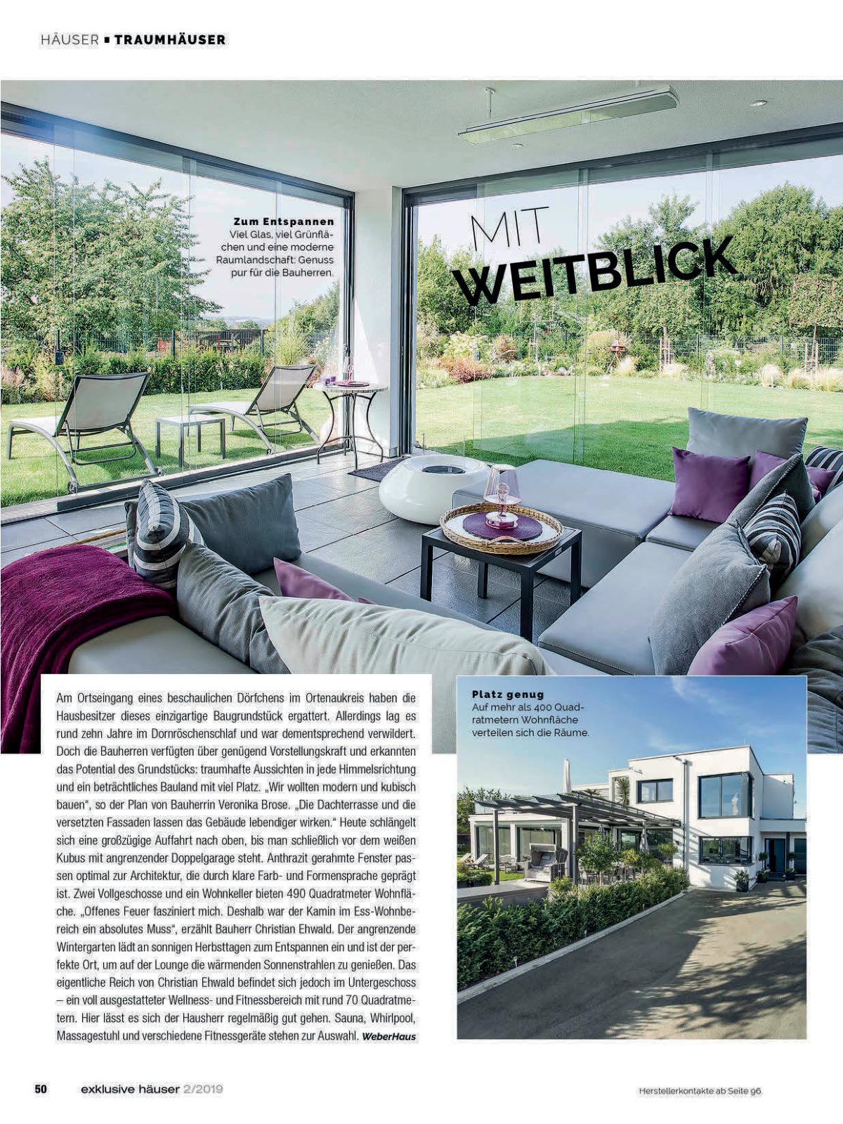 exklusive Häuser Ausgabe 2 2019