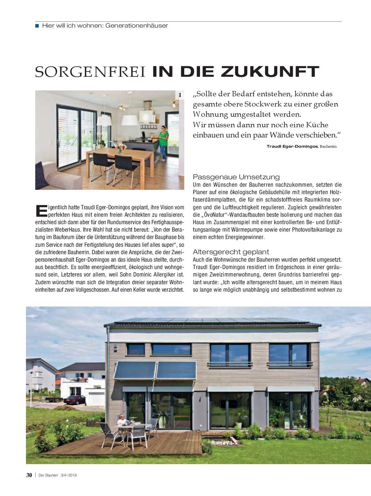 Der Bauherr Ausgabe April/ Mai 2019