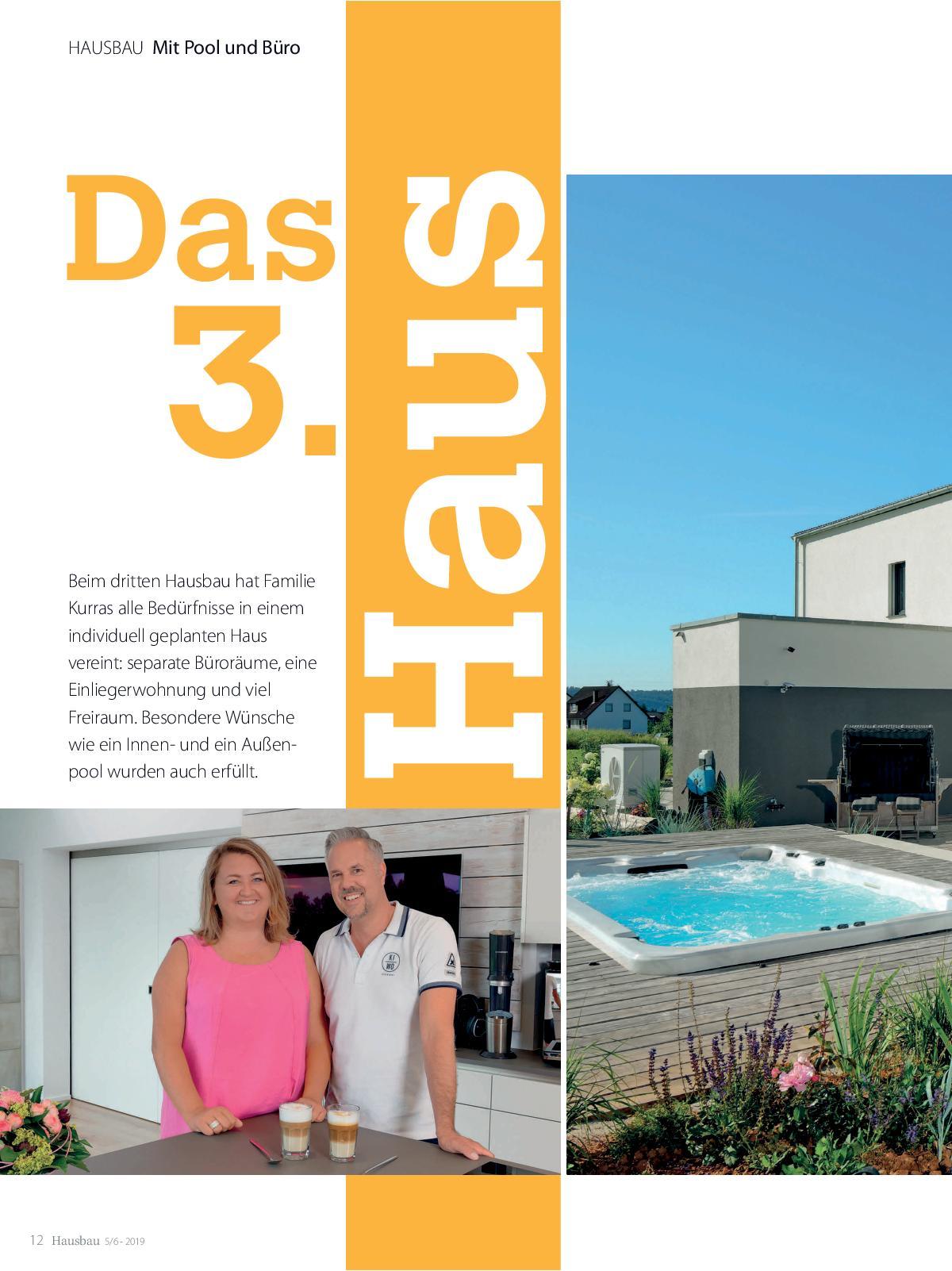 Hausbau Ausgabe Mai/ Juni 2019