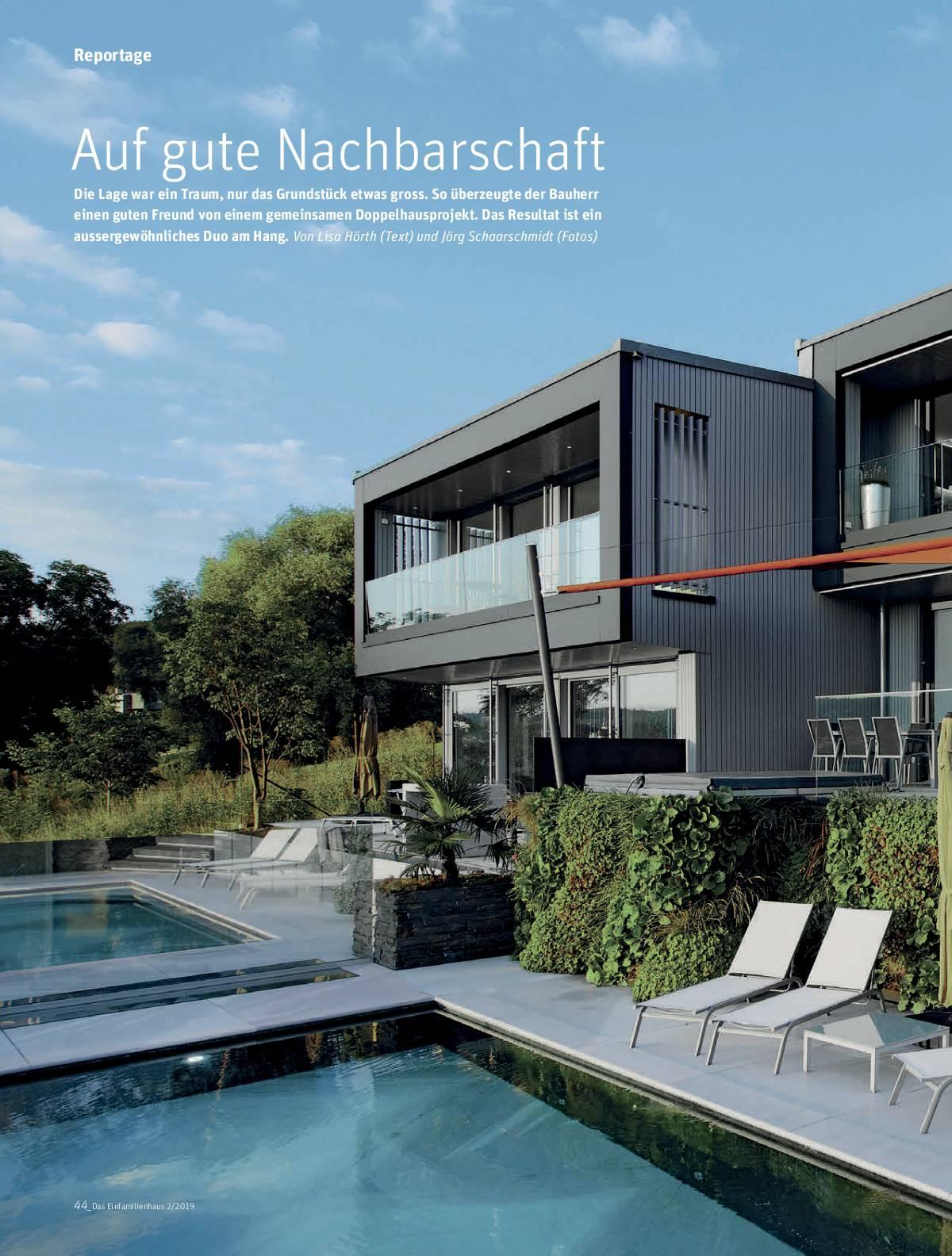Einfamilienhaus CH Ausgabe 2 2019