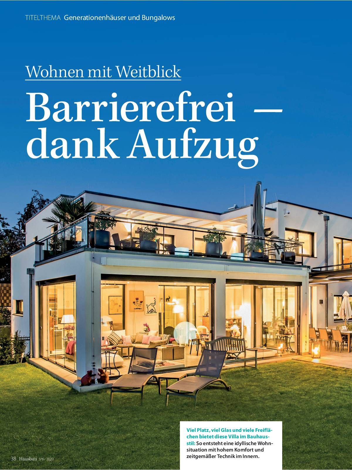Hausbau Ausgabe Mai/ Juni 2020