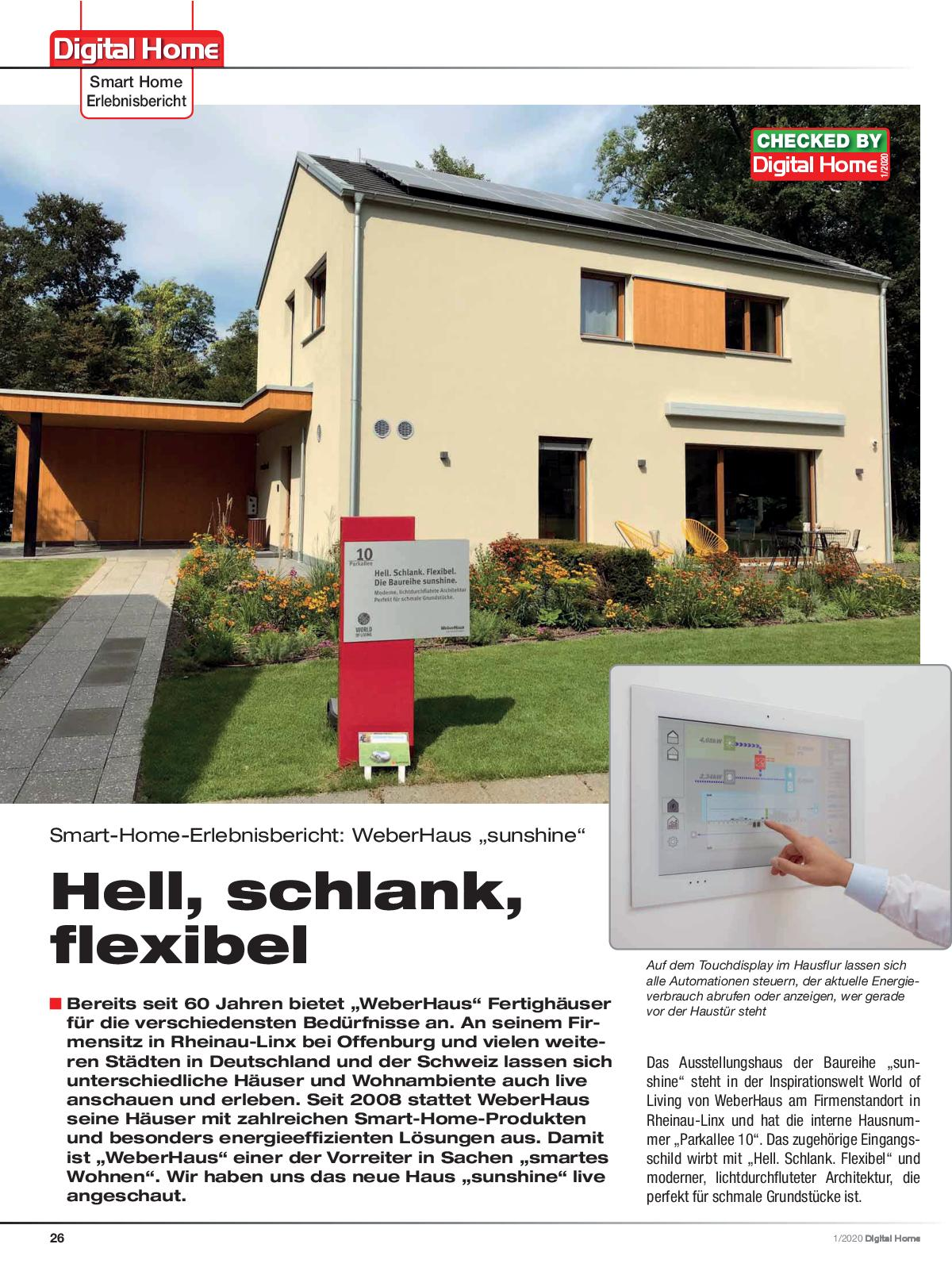 Digital home ausgabe 1 2020