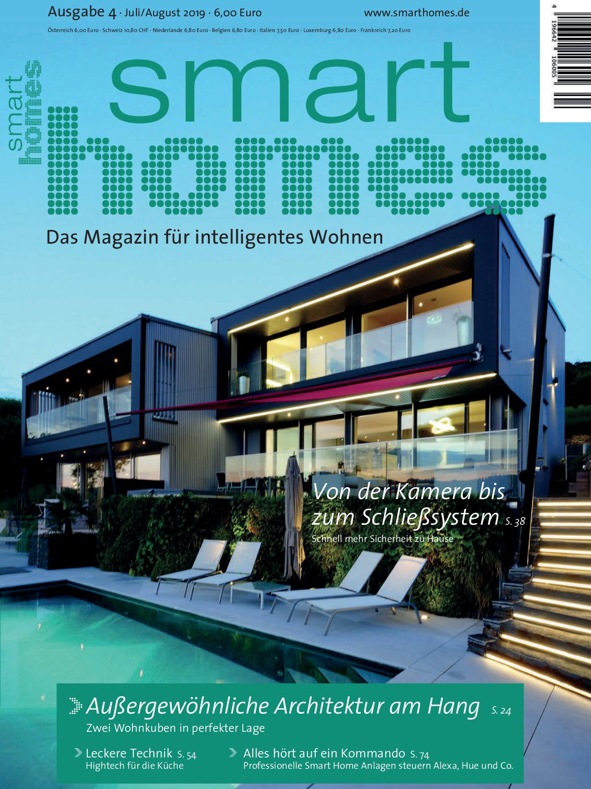smart homes Ausgabe 4 2019