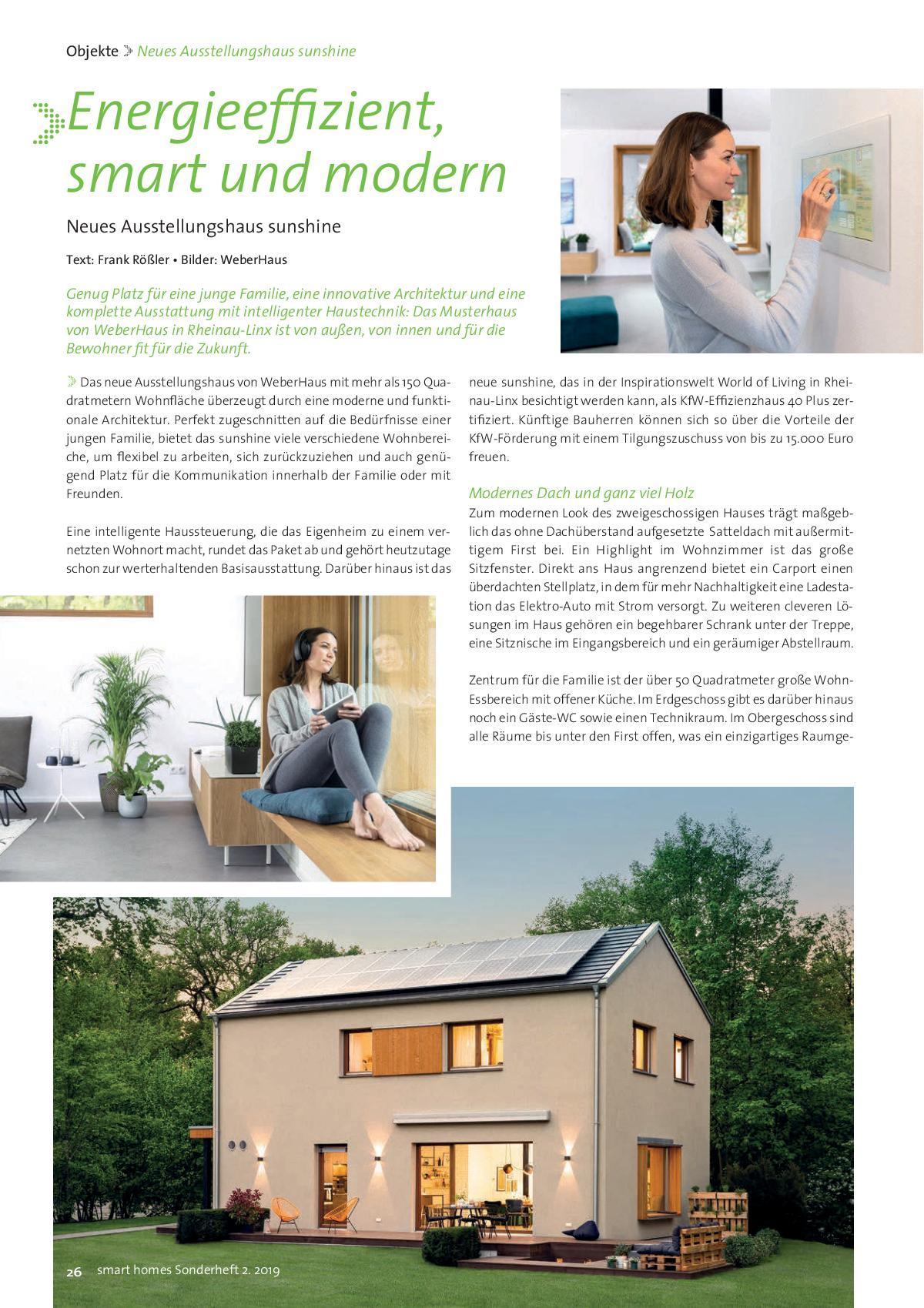 smart homes Ausgabe 02 2019