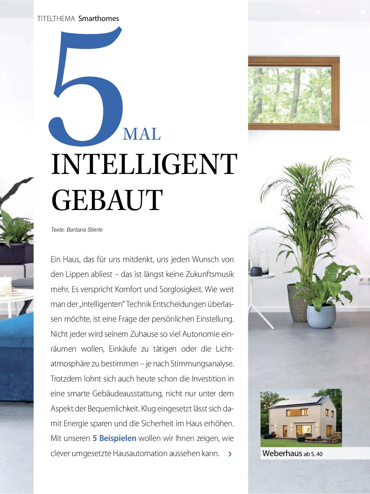 Hausbau Ausgabe 11/ 12 2019