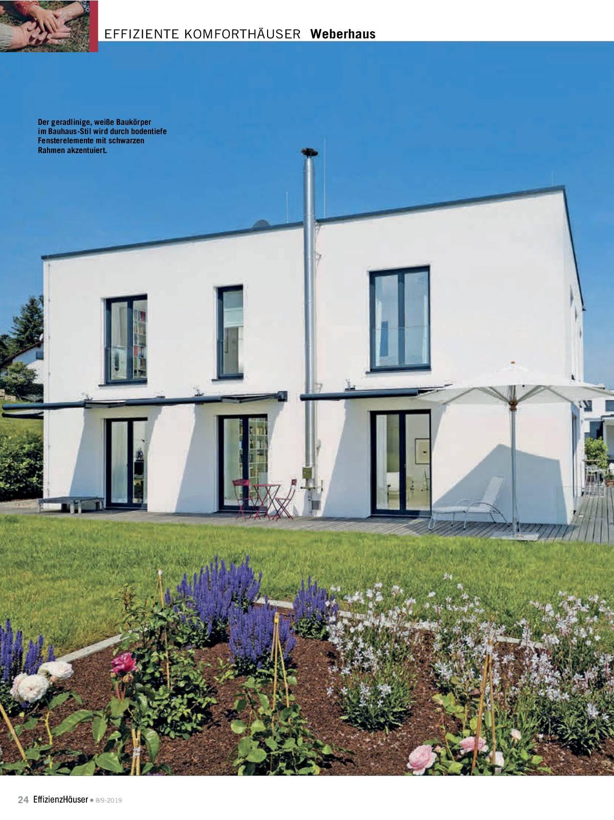 Effizienzhäuser Ausgabe 8/ 9 2019