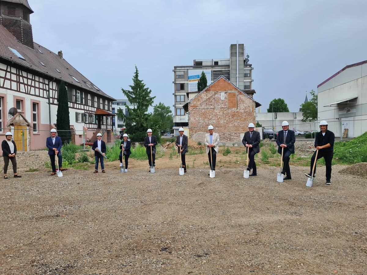 Spatenstich für den Neubau der Diakonie Sozialstation Kehl-Hanauerland