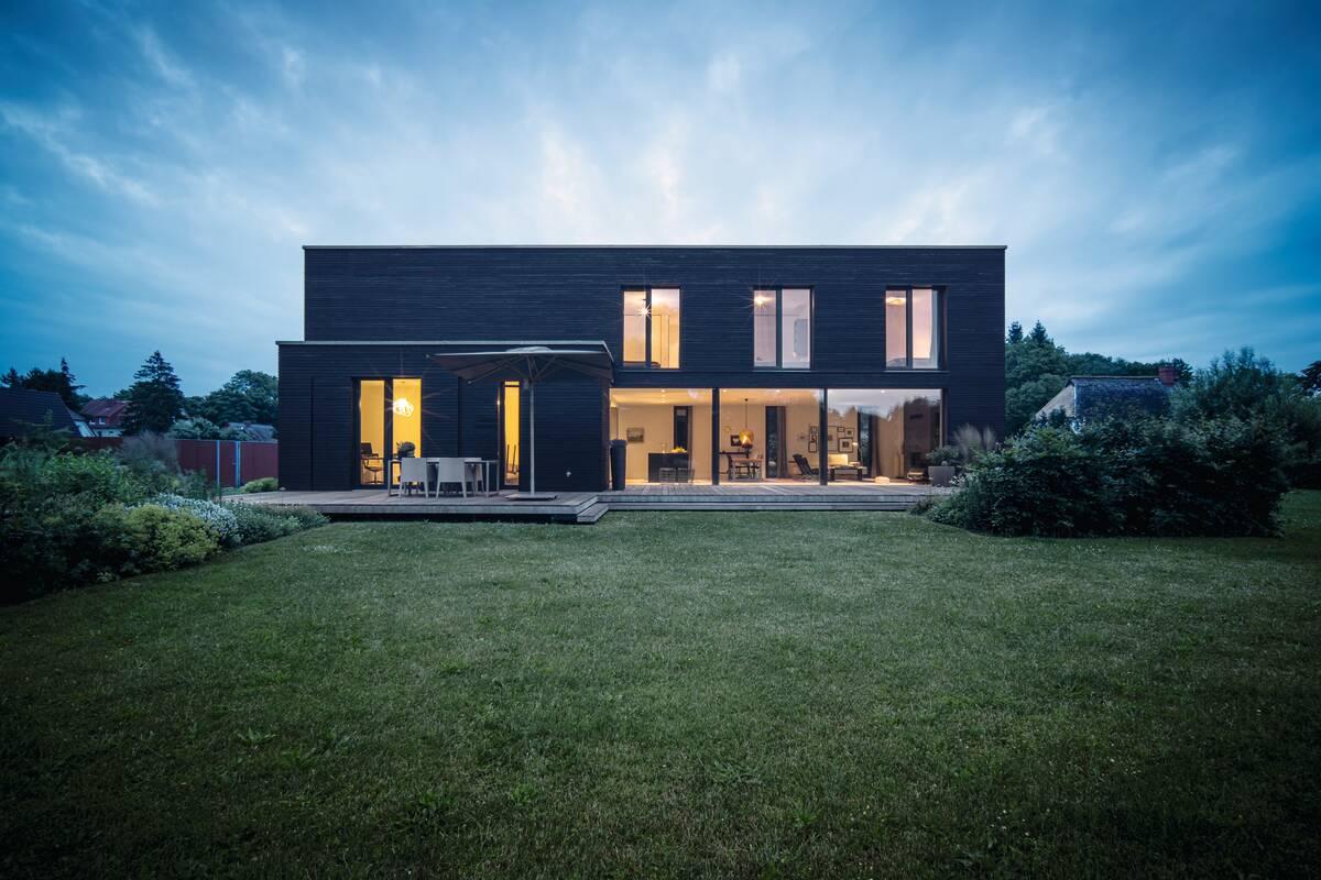 Einfamilienhaus im Bauhausstil