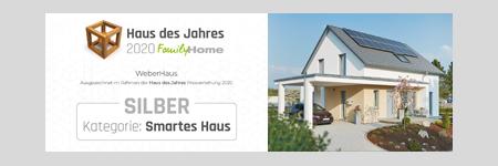 Haus des Jahres 2020 FamilyHome Kategorie: Smartes Haus