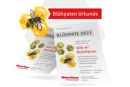 Blühstreifen-Initiative WeberHaus