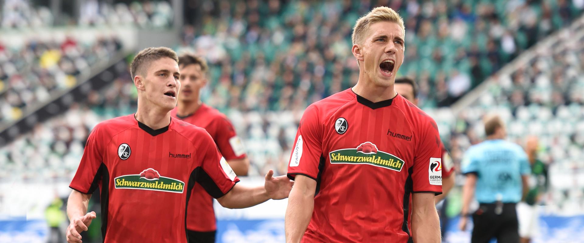 Bundesligist Nils Petersen - SC Freiburg