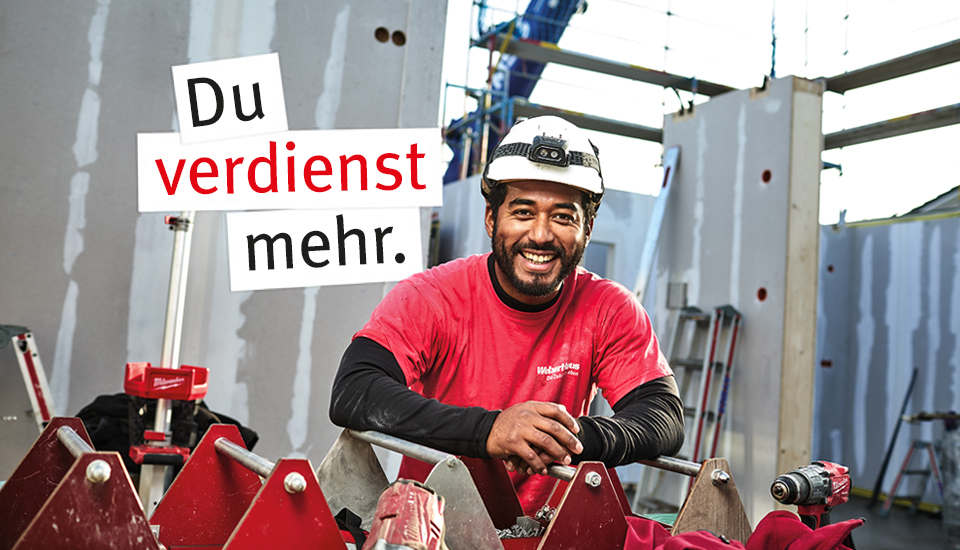 WeberHaus Recruiting Handwerker - Du verdienst mehr