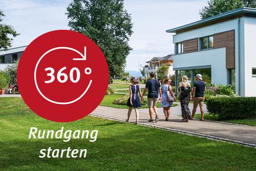 virtuelle Musterhaus-Besichtigung - 360Grad Rundgang