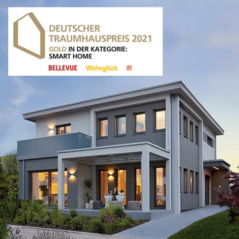 Gold für WeberHaus Musterhaus beim Deutschen Traumhauspreis - Smarthome