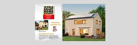 World Smarthome Award Winner 2021 Kategorie smart prefabricated houses