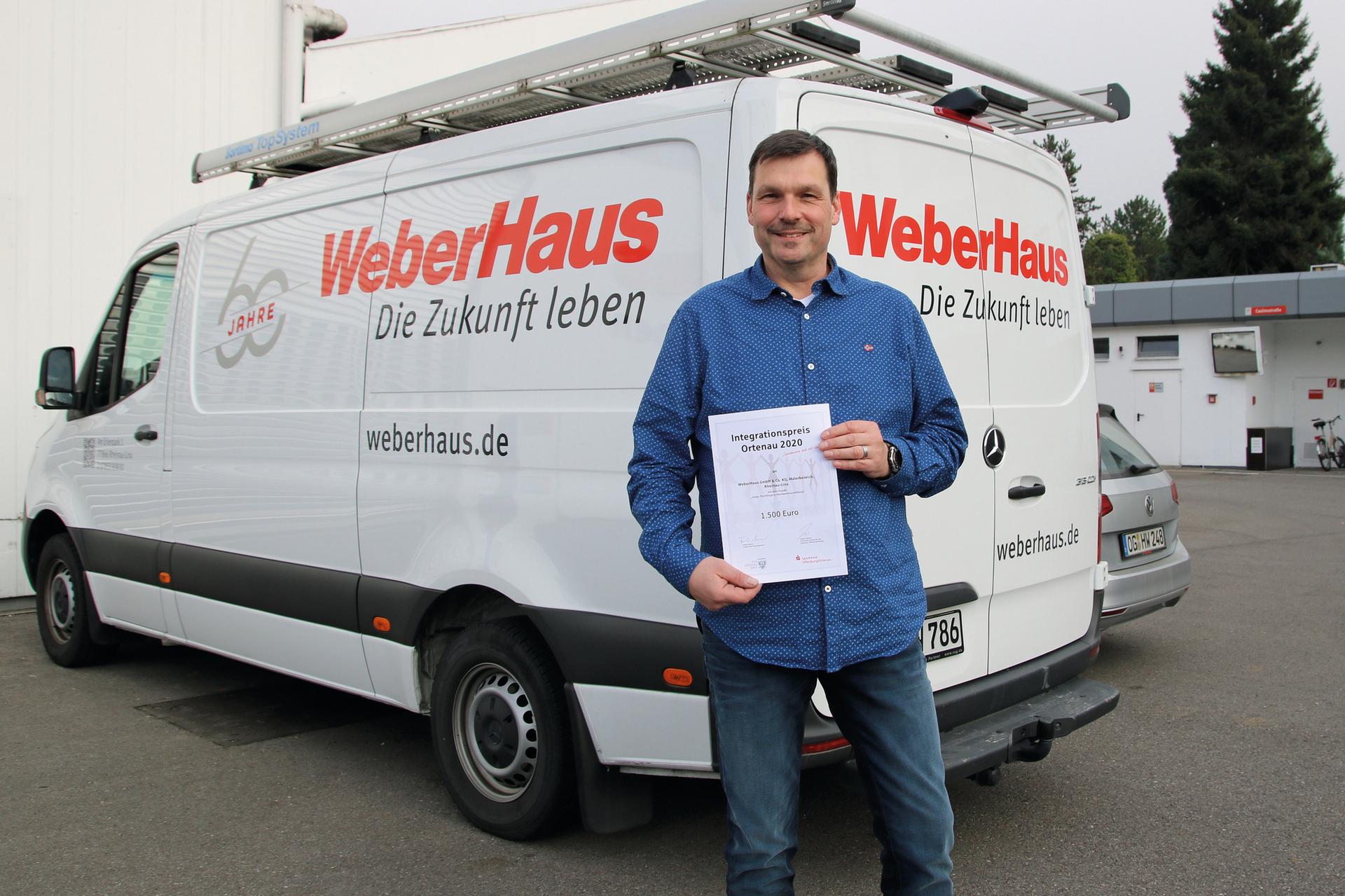 Integrationspreis für WeberHaus