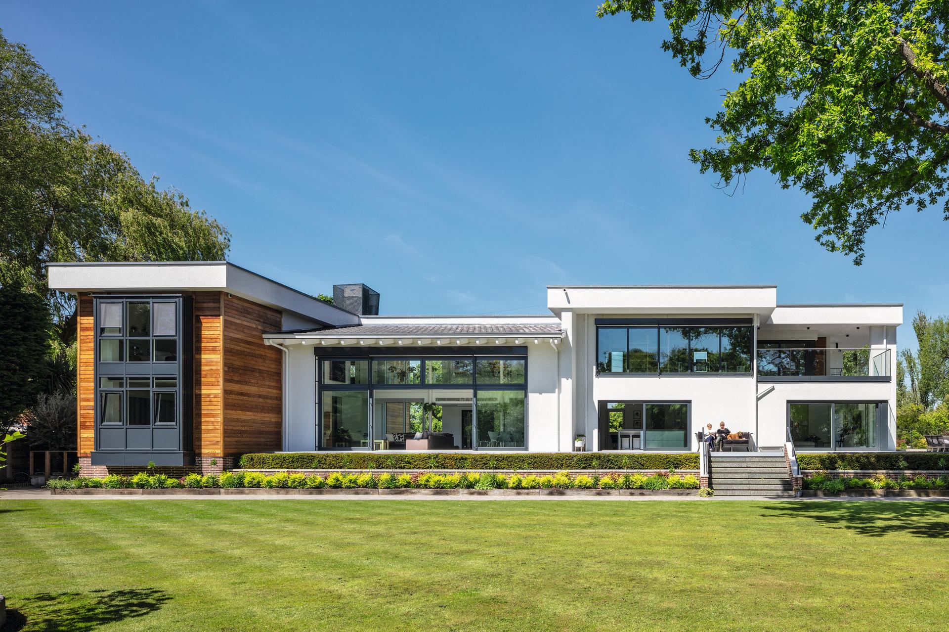 Luxuriöse Villa in Fertighausbau in UK - WeberHaus