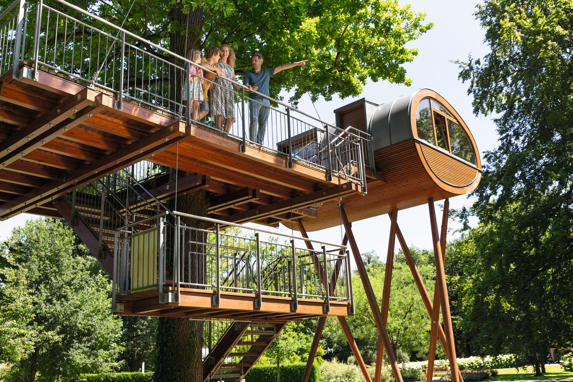 Baumhaus im Erlenpark - WeberHaus World of Living